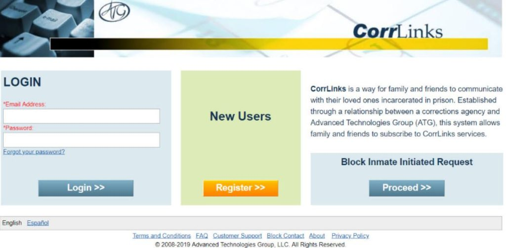 corrlinks email login