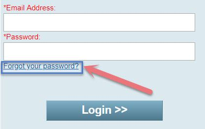 forgot corrlinks password