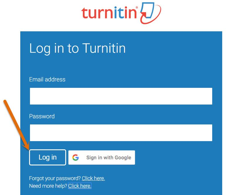 turnitin com login
