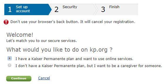 my kaiser app services