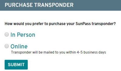 SunPass Login, Sign Up Account for Transponder/Pay Toll Online